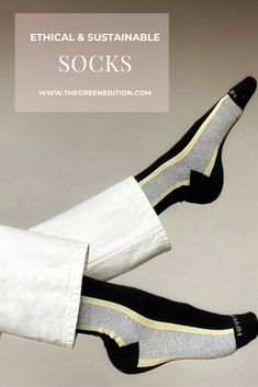 A list of over twelve brands producing socks more sustainably Ethical Clothing, Ethical Fashion, Fashion Brands, Sustainable Clothing, Sustainable Fashion, Sustainable Living, Fashion Moda, Womens Fashion, Minimalist Fashion
