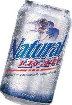 Natural Light Beer, 16 fl oz,