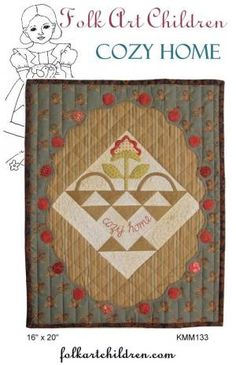 Love this little quilt by Karen Mowery!