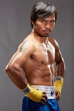 Manny Pacquiao. If I could just carry him in my pocket, there'd be no need for any other defense