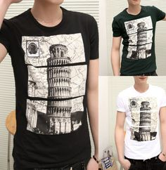 * With high quality and popularity  * Extremely fashion, and eye-catching,  * Soft and comfortable to wear and touch  * Material: Cotton blend   * Color:  white, black, green   * Size:  M ,L, XL  Note: please leave us message with the size you want