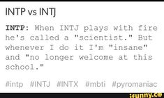 "HeyMister-Adam debunked this, but replace ""INTJ"" with Paul and INTP with Amy, and ..."