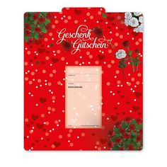 Multicolor-Gutschein U242 für Muttertag, Valentinstag oder einfach aus Liebe! Gift Wrapping, Gifts, Mother's Day, Valantine Day, Things To Do, Love, Cards, Simple, Gift Wrapping Paper