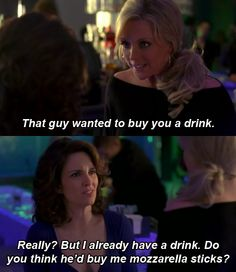 Tina Fey is amazing. This is basically how I would act lol