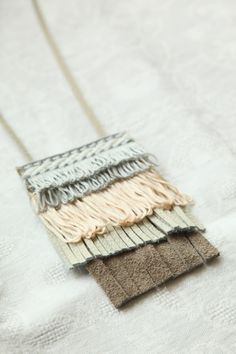 DIY Fringe Statement Necklace