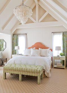 Santa Barbara - contemporary - bedroom - santa barbara - Caitlin Moran Interiors - HEADBOARD!!!