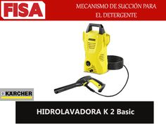 HIDROLAVADORA K2 BASIC. Mecanismo de succión de detergente -FERRETERIA INDUSTRIAL -FISA S.A.S Carrera 25 # 17 - 64 Teléfono: 201 05 55 www.fisa.com.co/ Twitter:@FISA_Colombia Facebook: Ferreteria Industrial FISA Colombia