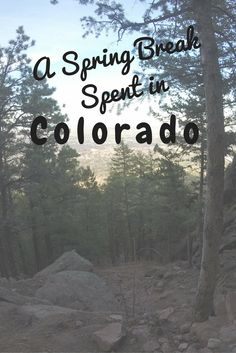 Are you headed to Colorado? Here are my experiences *and a video* of a perfect spring break in the mountains of Colorado.