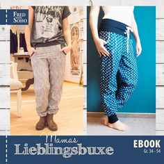 Newest Images easy sewing pants Concepts Ebook - Sewing Clothes Women, Sewing Pants, Diy Clothes, Clothes For Women, Clothing Patterns, Sewing Patterns, Knitting Patterns, Crochet Patterns, Diy Mode