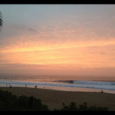 Sunset via Taj Burrow
