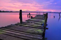 Walk the line #goldenhour #dusk #dawn #photography #scenery #walktheline #walktheplank #life #sunset #sea #beach #Oceanview