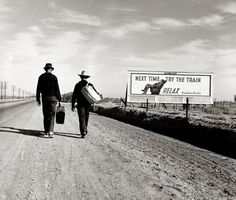 Next Time, Try the Train: 1937 (Dorothea Lange's photographs of rural America during the depression - incredible)
