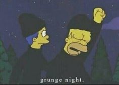 Grunge night funny black the simpsons homer simpson marge simpson Soft Grunge, Pastel Grunge, The Simpsons, Indie, Way Of Life, Movie Quotes, Cartoon Quotes, Memes, Cool Stuff