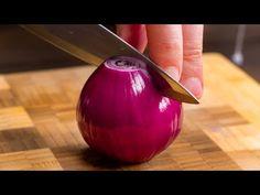 Ich habe gerade eine Zwiebel geschnitten und gesehen, was herauskam  Cookrate - Deutschland - YouTube Youtube Cooking, Onion, Snacks, Vegetables, Food, Side Dishes, Appetizers, Onions, Essen