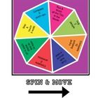 This spinner is great to just print out and use. Cut out the arrow and use a brad with a bead to create a spinner.  Now you are ready to have a lit...
