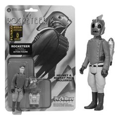 SDCC Exclusive Black and White Rocketeer Action Figure $14.99