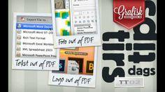 I denne uges TirsdagsTip kigger vi på tre ting, som kan forbedre din grafiske hverdag. Få et logo ud af en PDF, Ret i billeder – eller hent dem ud af en PDF. #GrafiskUndervisning.dk Se videoen her: http://www.grafiskundervisning.dk/tirsdags-tips-stjael-logoer-tekster-og-billeder-fra-pdf-filer/