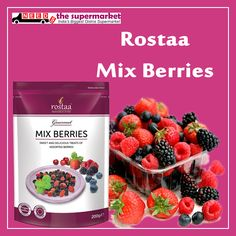 Eat Sweet, Tasty and Delicious Rostaa Mix #Berries and make your day Joy full If your your day Joy full get on #NeedsTheSupermarket  Online #supermarket in Delhi NCR