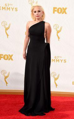 Lady Gaga from Les stars les mieux habillées aux Emmy Awards 2015