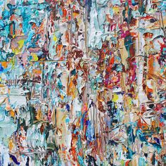 "Adam Cohen adamcohenstudio.com acrylic and oils on 36"" canvas"
