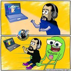 Via Instagram LAEMINENCIAreal Jajajajaja // Lunes de  #ProblemasDeProductores  #ProducerProblems para ver más sigue a  @ProblemasDeProd  #audioengineer  #producermeme #laeminencia #laeminencialol  #memes #reggaeton #edm #musicaurbana #estudiodegrabacion #productormusical #grabacion  #recordingstudio  #SiguemeYTeSigo #productoresmusicales  #cartoon #comic #webcomic #musicproducer #studioflow  #animestudio #plugin #beat #protools #musicproducerlife  #flstudio #dj productor musical problemas de…