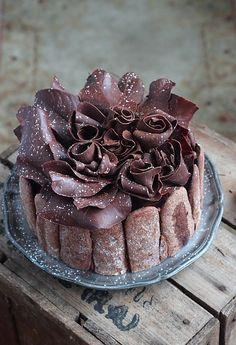 Délices d'Orient: Charlotte au chocolat de Pierre Hermé