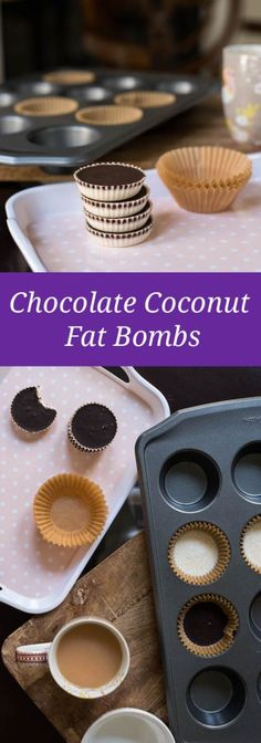 Keto/Paleo Chocolate Coconut Fat Bombs | Only Taste Matters