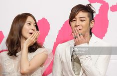 Singer Yoona of Girls Generation and actor Jang Keun-Suk attend the KBS Drama 'Love Rain' Press Conference at Lotte hotel on March 22, 2012 in Seoul, South Korea.