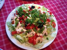Shrimp salat