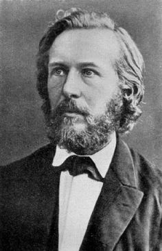 Ernst Haeckel (1834-1919) Christmas of 1860 (age 26). German biologist, naturalist, philosopher, physician, professor, and artist.