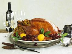 Get Holiday Hidden Valley® Ranch Roasted Turkey with Cornbread Stuffing Recipe from Food Network Cornbread Stuffing, Stuffing Recipes, Turkey Recipes, Turkey Meals, Thanksgiving Turkey, Thanksgiving Recipes, Holiday Recipes, Holiday Meals, Hidden Valley Recipes