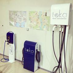 #электрозаправка на любой вкус от #tokaua  #tesla #leaf #i3 #i8 #twizy #ev #electricvehicle #kiev #ukraine by tokaua