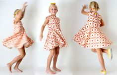 The First Day Dress Pattern is HERE! | MADE : I made this for my girl in a 5T, in the hopes she can wear it for a couple of years.