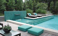 swimming pool waterfalls - Buscar con Google