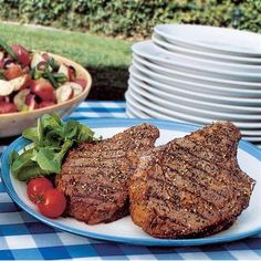 Balsamic Peppercorn Steak: This savory and peppery marinade for steak is balanced perfectly with sweet balsamic vinegar. Perfect way to celebrate the start of summer at a Memorial Day cookout.