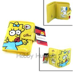 Wallet SIMPSONS NEW Maggie Costume Cosplay - Yellow