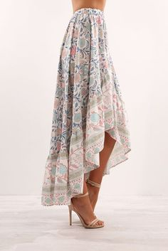 We ship worldwide. Modest Fashion, Skirt Fashion, Fashion Outfits, High Low Outfits, Church Outfit Summer, Jean Skirt Outfits, Ladies Dress Design, Cute Outfits, My Style