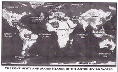 Here's a world overview map that was in Atlantis The Second Age book: