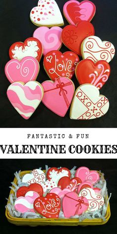 Valentine's Day Heart Cookie Favors, Anniversary Cookie Favors, Wedding Cookie Favors, Sweetest Day Cookies, Personalized Cookies #valentine  #cookie #cookieart #ad #love