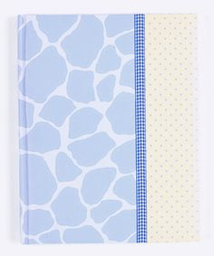 Take a look at this Blue Giraffe Brag Book by pepper pot on #zulily today!