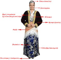 Greek Traditional Dress, Traditional Outfits, Greek Dancing, Greek Dress, Greece Pictures, Greek Culture, Thessaloniki, Folk Costume, Greek Costumes