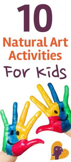 Next time you're looking for indoor fun, try these 10 natural art activities that are safe and flexible for kids of all ages. http://www.mamanatural.com/natural-art-activities-kids/