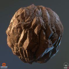 ArtStation - Rhyolite Rock Study, .: Dete :.