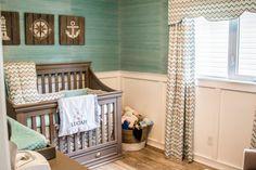 Blue and Gray Coastal-Inspired Nursery - Project Nursery