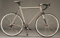 Strong Frames titanium road bike