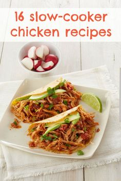 16 slow-cooker chicken recipes, like Slow-Cooker Salsa Chicken