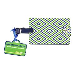 Jonathan Adler Luggage Tags, new prints in the store today: www.zhush.com  $8.00