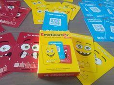 Les Emoticartes : un jeu de cartes pour apprivoiser les émotions et les réguler (6 ans et +). Sur une idée d'un sophrologue pour enfants.