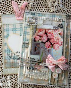 Rose card paperbag