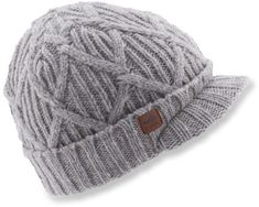 7245a724745e9 The Coal Yukon Brim beanie offers a traditional fit and features a roll-up  cuff. REI